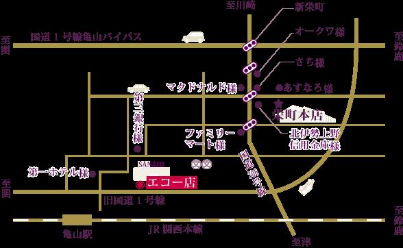 エコー地図