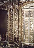 リンズ彫りの小柱